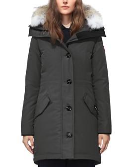 Canada Goose - Rossclair Fur Trim Down Parka