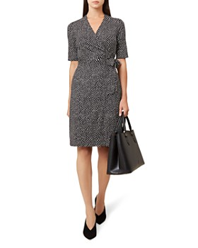 HOBBS LONDON - Delilah Printed Wrap Dress