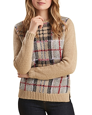 Barbour Morlich Knit Plaid Sweater