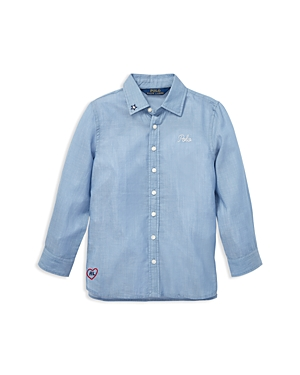 Polo Ralph Lauren Girls' Tunic Shirt - Little Kid
