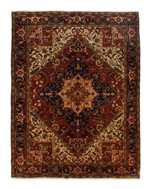 Solo Rugs Heriz Hester Hand-Knotted Area Rug, 8'6 x 11'2