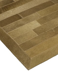 """Solo Rugs - Cowhide Brumby Hand-Knotted Area Rug, 5'1"""" x 7'1"""""""