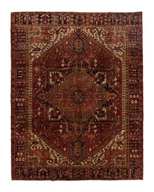 Solo Rugs Heriz Aviva Hand-Knotted Area Rug, 9'10 x 12'5
