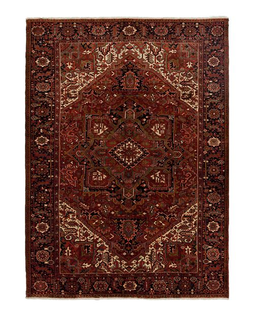 Solo Rugs Heriz Scout Hand Knotted Area Rug 8 7 X 11 8