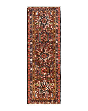 Solo Rugs Gashghai Laurel Hand-Knotted Runner Rug, 2'5 x 6'9