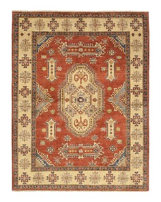 """Solo Rugs - Kazak Lucie Hand-Knotted Area Rug, 5'10"""" x 7'8"""""""