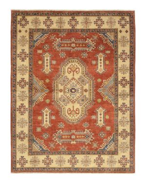 Solo Rugs Kazak Lucie Hand-Knotted Area Rug, 5'10 x 7'8