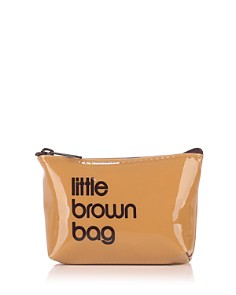 Bloomingdale's - Little Brown Key Pouch - 100% Exclusive
