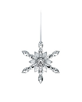 Baccarat - Silver Snowflake 2018 Ornament