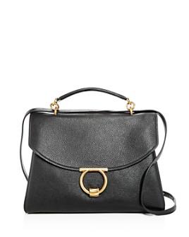 Salvatore Ferragamo - Margot Medium Leather Shoulder Bag