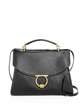 Salvatore Ferragamo - Margot Medium Leather Shoulder Bag
