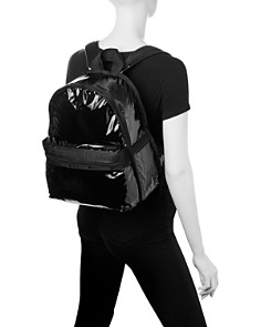 LeSportsac - Candace Faux Patent Leather Backpack