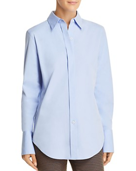 Theory - Essential Button-Front Shirt
