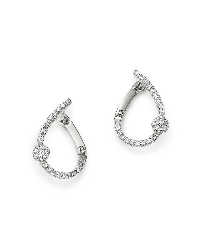 ac902b2aa Bloomingdale S Diamond Front To Back Earrings In 14k White Gold