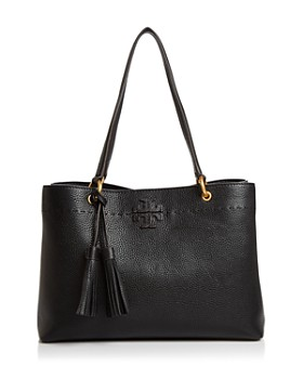 Tory Burch - McGraw Medium Leather Shoulder Tote