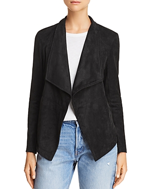 Bb Dakota Earned It Lace-Up Faux Suede Jacket