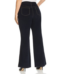 Lafayette 148 New York Plus - Mercer Corduroy Flared Pants in Ink