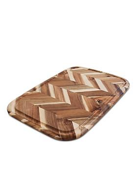 "Architec - Herringbone Acacia Board, 13"" x 19"""