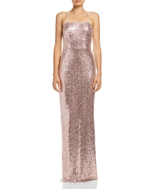 Watters Remy Sequin Gown