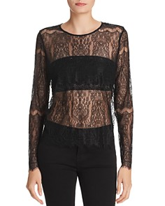 CAMI NYC - Asher Sheer Lace Top