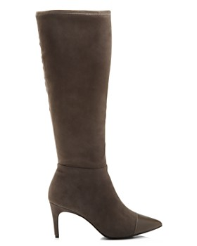 Charles David - Women's Parish Pointed Toe Suede & Leather Boots