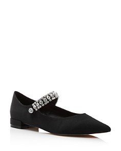 Kurt Geiger - Women's Kingly Pointed Toe Ballerina Flats
