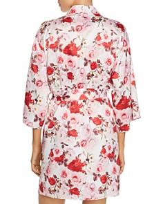 Flora Nikrooz - Alejandra Floral Satin Kimono Robe