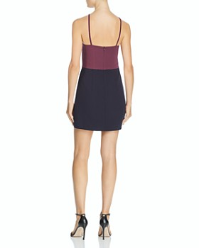 FRENCH CONNECTION - Sleeveless Color-Block Dress