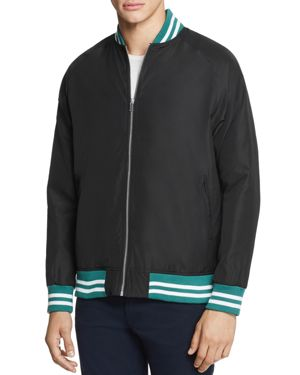Sovereign Code Hunter Stripe-Trimmed Bomber Jacket