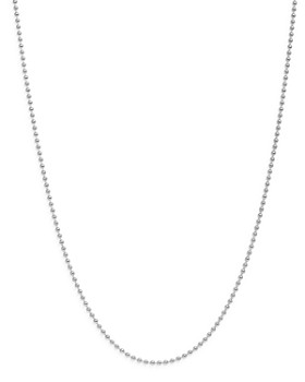 Dodo - Sterling Silver Long Chain Necklace, 35.4""