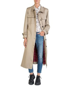 The Kooples Long Trench Coat