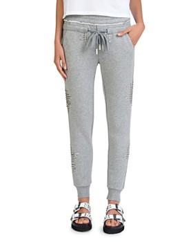 The Kooples - Studded Fleece Sweatpants