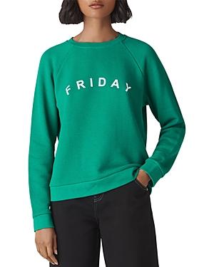 Whistles Friday Raglan Sweatshirt