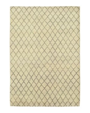 Solo Rugs Rabat Diamante Hand-Knotted Area Rug, 6' 5 x 9' 0