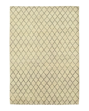 Solo Rugs Rabat Diamante Hand-Knotted Area Rug, 6\\\' 5 x 9\\\' 0-Home