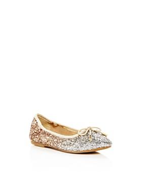 de4c9a311740f Sam Edelman - Girls  Felicia Ombré Glitter Ballet Flats - Toddler