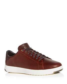 Cole Haan - Men's GrandPro Leather Lace Up Sneakers
