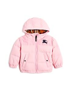 Burberry - Girls' Mini Ezra Hooded Down Puffer Coat - Baby