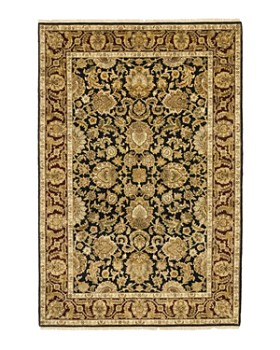 """Solo Rugs - Oushak Lee Hand-Knotted Area Rug, 6'2"""" x 9'2"""""""