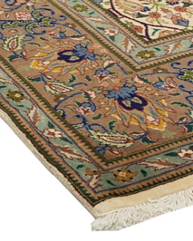 """Solo Rugs - Tabriz Jane Hand-Knotted Area Rug, 6' 8"""" x 9' 5"""""""