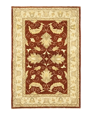 Solo Rugs Oushak Handan Hand-Knotted Area Rug, 3'10 x 5'10