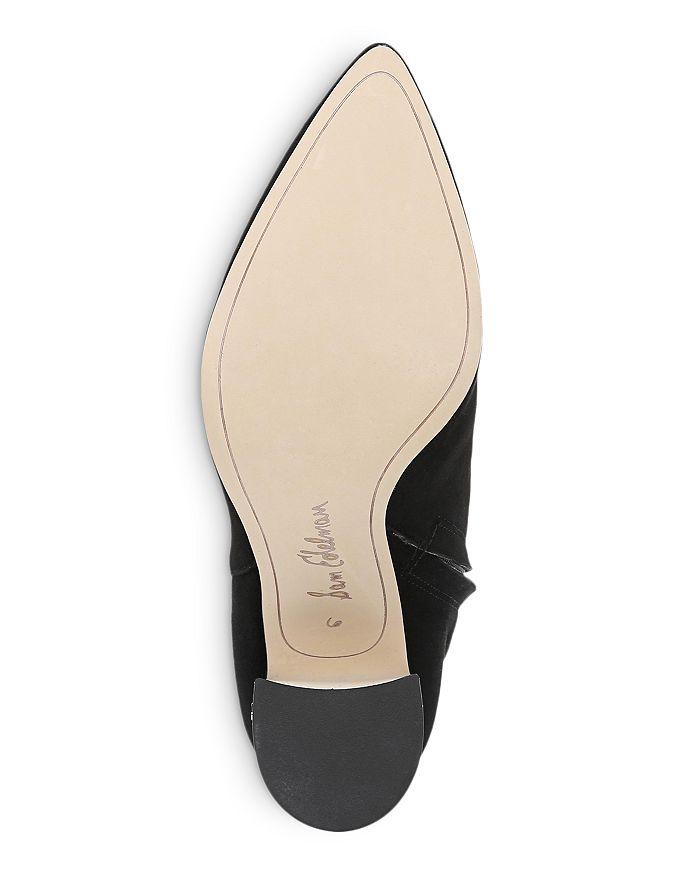 a758d0b269b76 Sam Edelman Women s Hilty Pointed Toe Block High-Heel Ankle Booties ...