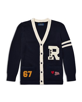 Ralph Lauren - Girls' Varsity Cardigan - Big Kid