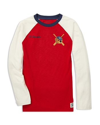 Ralph Lauren Boys  Jersey Polo Bear Baseball Tee - Big Kid ... 1fb18d623e34a