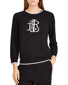 Ralph Lauren - Cashmere Monogram Sweater - 100% Exclusive