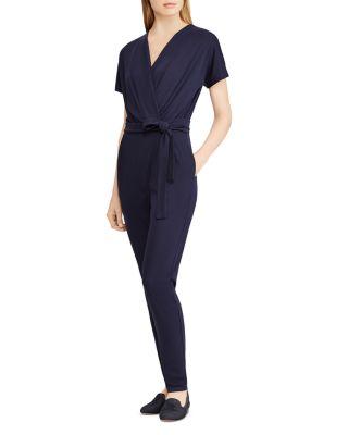 Wrap Front Jumpsuit by Lauren Ralph Lauren