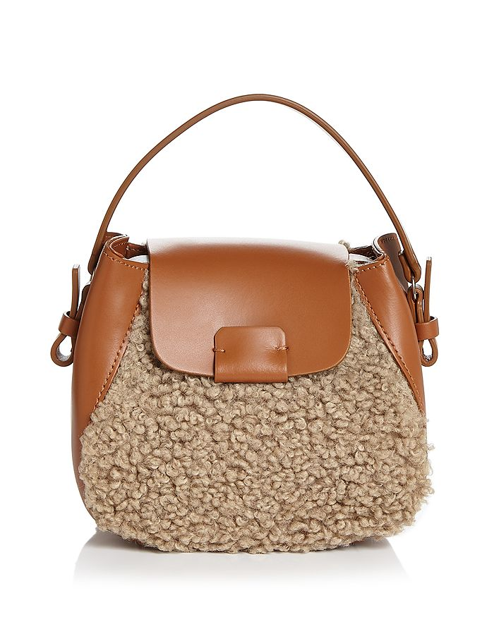 Nico Giani - Small Leather & Faux Fur Crossbody
