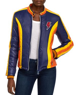 Mother The High Flyer Color-Block Jacket