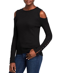 Current/Elliott - The Going Steady Cold-Shoulder Top