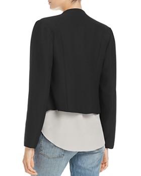 Bagatelle - Draped Open-Front Jacket
